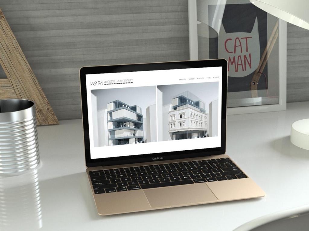 strona internetowa zaprojektowana przez sparrowstudio